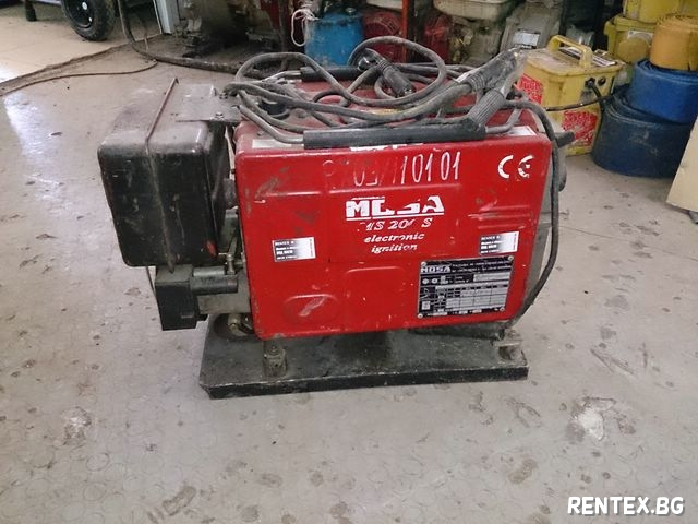 welding machine rental price