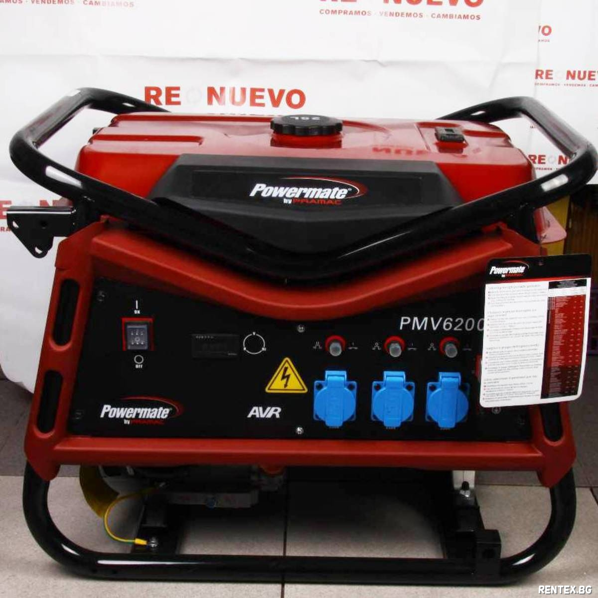 Генератор Powermate PMV6200 + AVR
