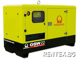 Индустриален генератор Pramac GSW22Y