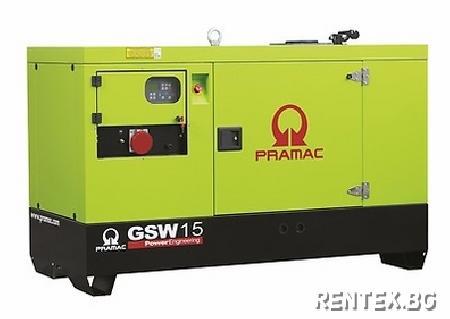 Индустриален генератор Pramac GSW15Y