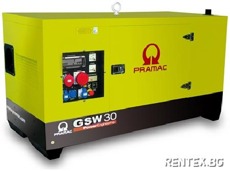 Индустриален генератор Pramac GSW30Y