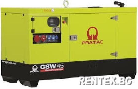 Индустриален генератор Pramac GSW45Y