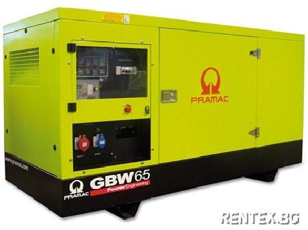 Индустриален генератор Pramac GSW65P