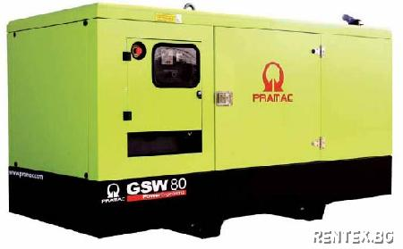 Индустриален генератор Pramac GSW80P